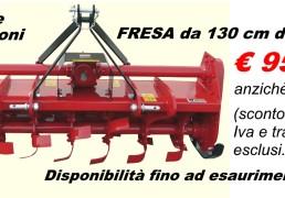 Fresa Zappatrice 130cm Garden Green - Promozioni-Fresa130cm