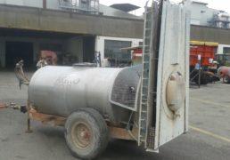 Atomizzatore AGRO Lt 2000. Cisterna in acciaio inox. Colonna tangenziale inox con ventola da 900. Getti albuz. Pompa centrifuga a basso volume. Comando a distanza-4