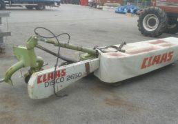 Falciatrice DISCO CLAAS 2650-1