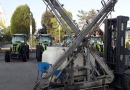 Gruppo portato It 1000 barra idraulica 15 mt